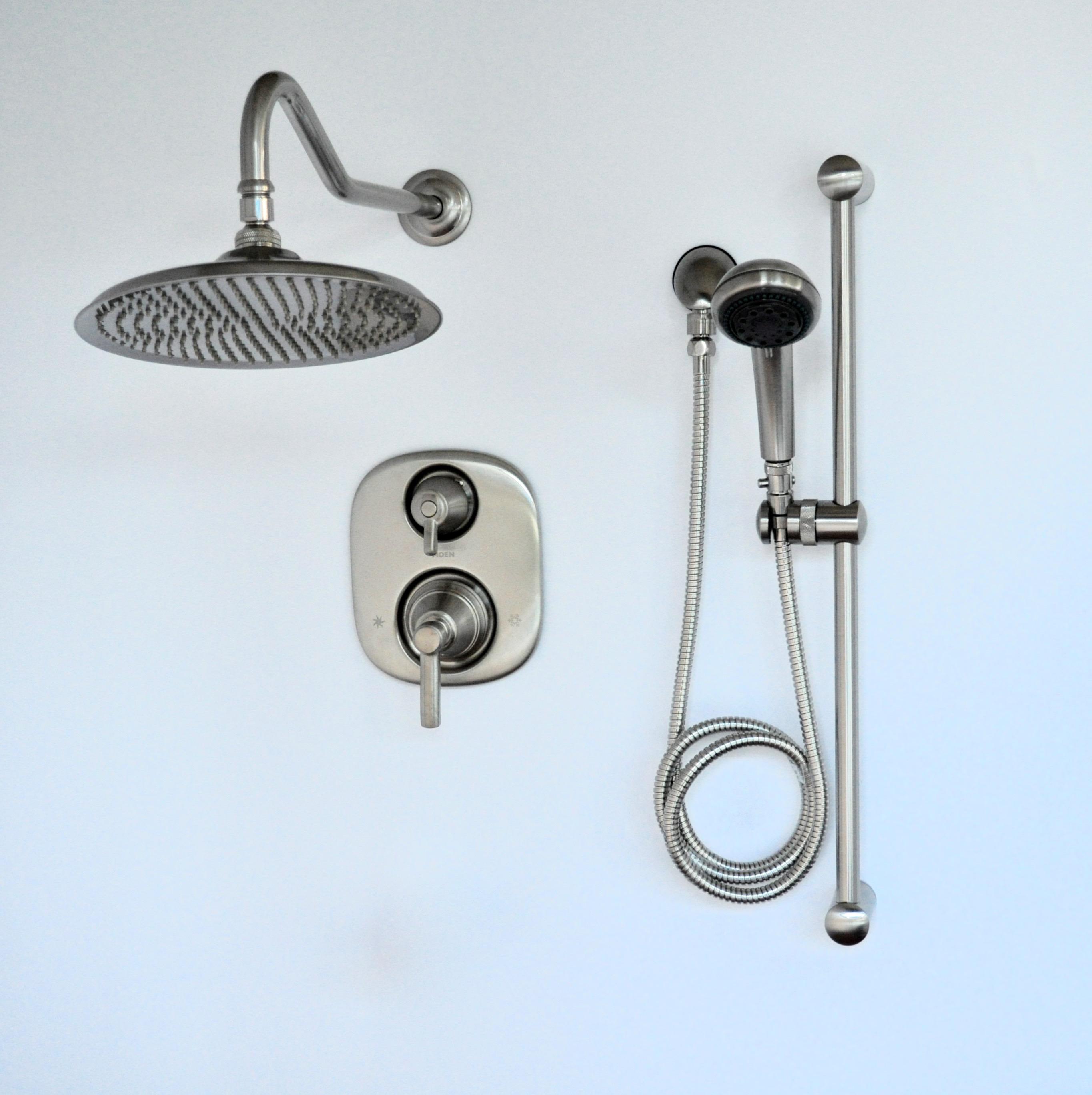 Thermostatic Rain Shower System Rain Shower Kit