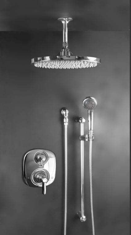 Superieur Atlantis 24 W Valve. 12 Inch Rain Head With Water. Handheld Shower Head