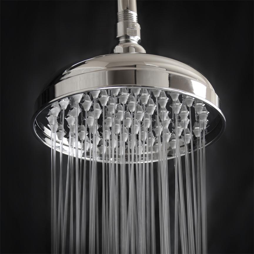 Rain Flow Shower Head.Stainless Steel Rain Shower Head High Flow Shower Head