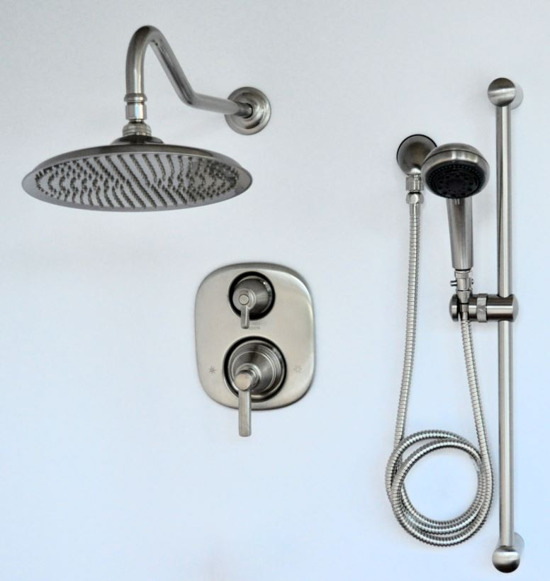 Pressure Balancing Shower Faucet Systems