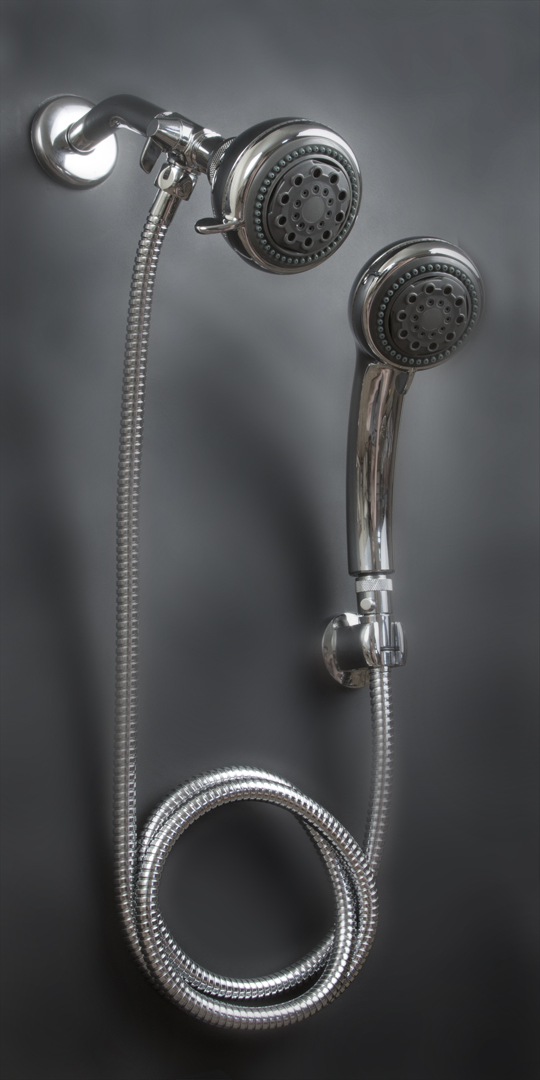 multi head shower systems featuring powerful hand held
