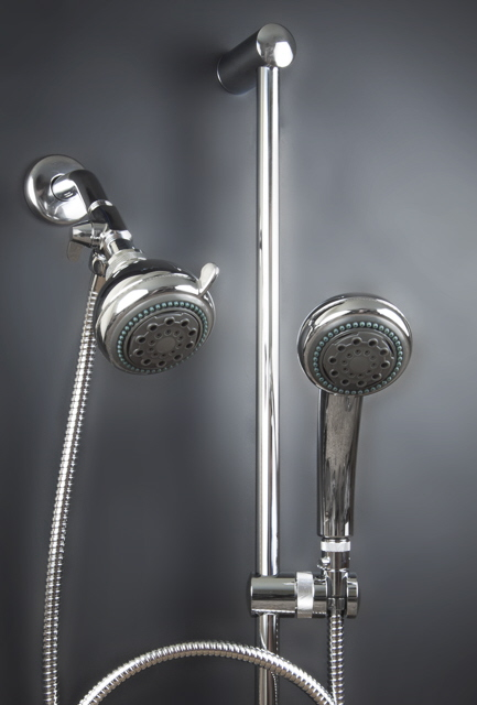 Chrome  Mariner 2 Shower System