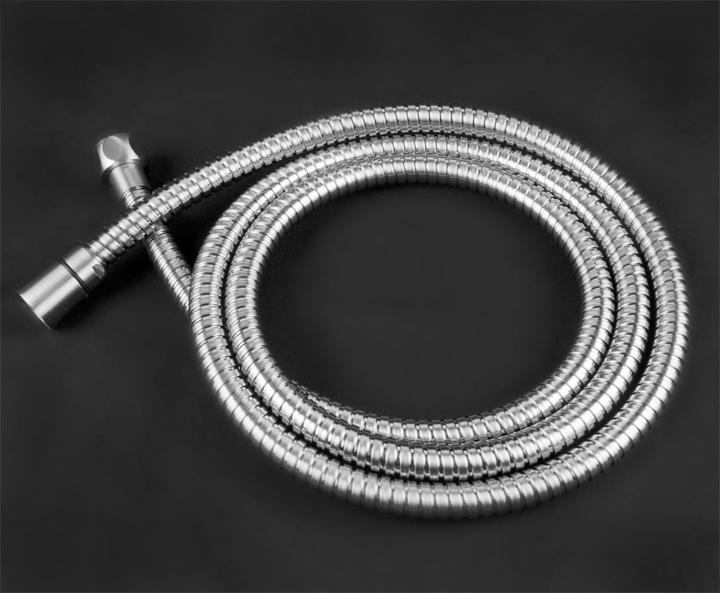 Chrome 69 inch Hand Held Shower Hose