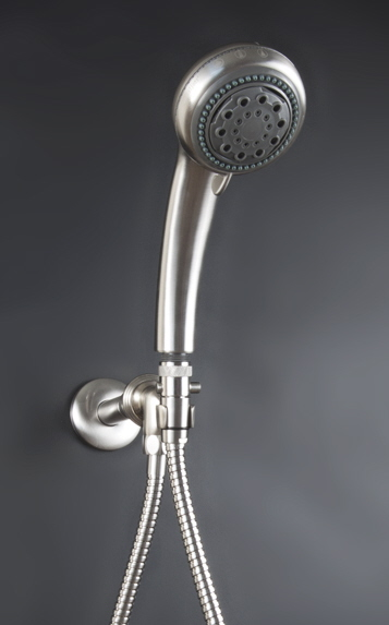 Brushed Nickel Voyager Shower System